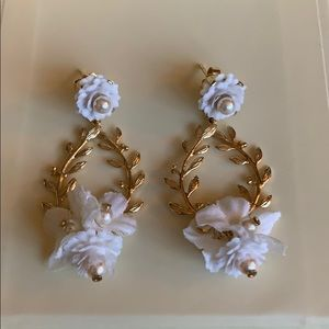 First Bloom Drop Earrings from BHLDN